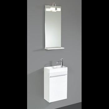 Hoe een klein toilet inrichten nieuws lafiness nieuws for Spiegel voor in de wc