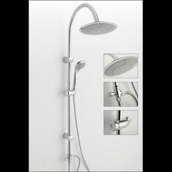 la t te de douche effet pluie parfaite pour en profiter sans trop consommer nieuws. Black Bedroom Furniture Sets. Home Design Ideas