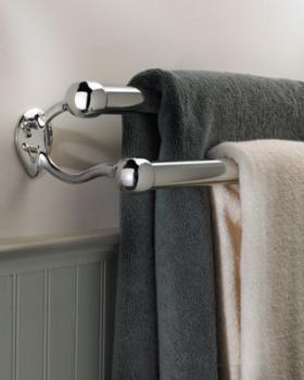 Toilet- en badkameraccessoires: een handdoekring als finishing touch ...