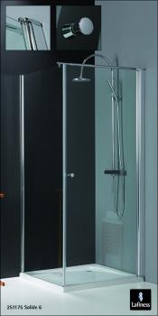Vrijstaande lafiness douchewanden draaideuren en profielloze deuren nieuws nieuws - Betegelde douche ...