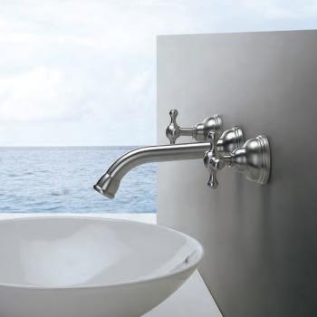 Een vleugje nostalgie in je badkamer dankzij klassieke kranen ...