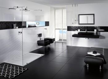 Moderne Witte Badkamer : Je tijdloze zwart wit badkamer nieuws lafiness nieuws: laat je